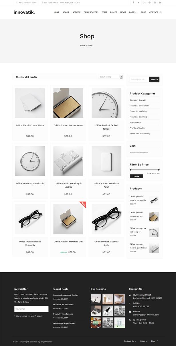 Innovatik - Corporate WordPress Theme | Creative WP | Business WP - 3